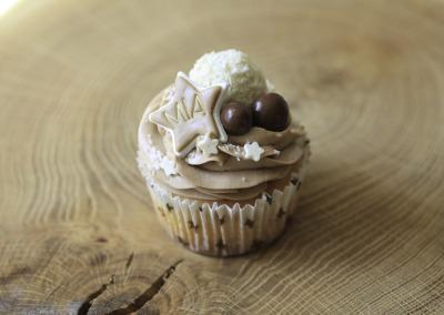 Kokos-Hazelnoot Cupcake