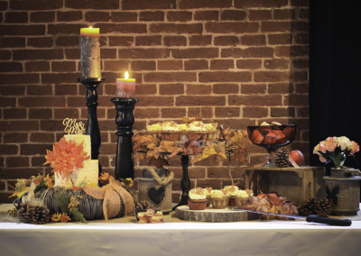 Autumn Bridal Sweet Table