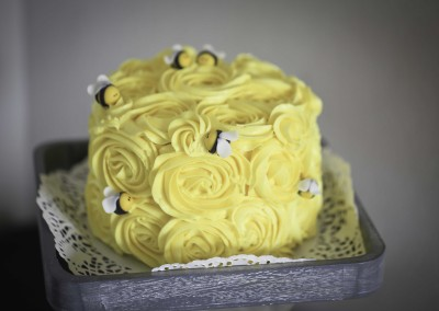 Piña Colada Bee themed Cake